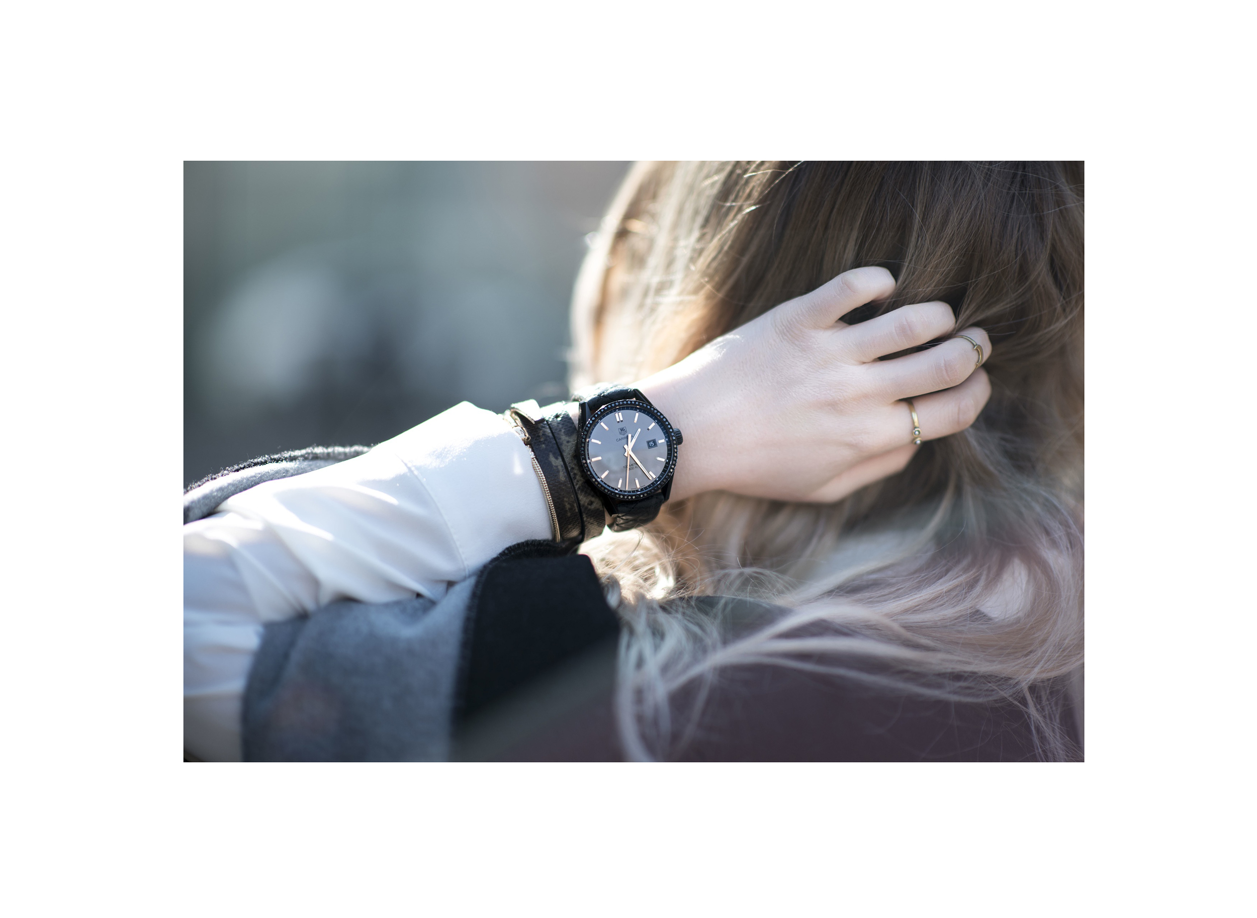 TAG Heuer x Cara Delevingne | tiphainemarie.com - swiss fashion blogger