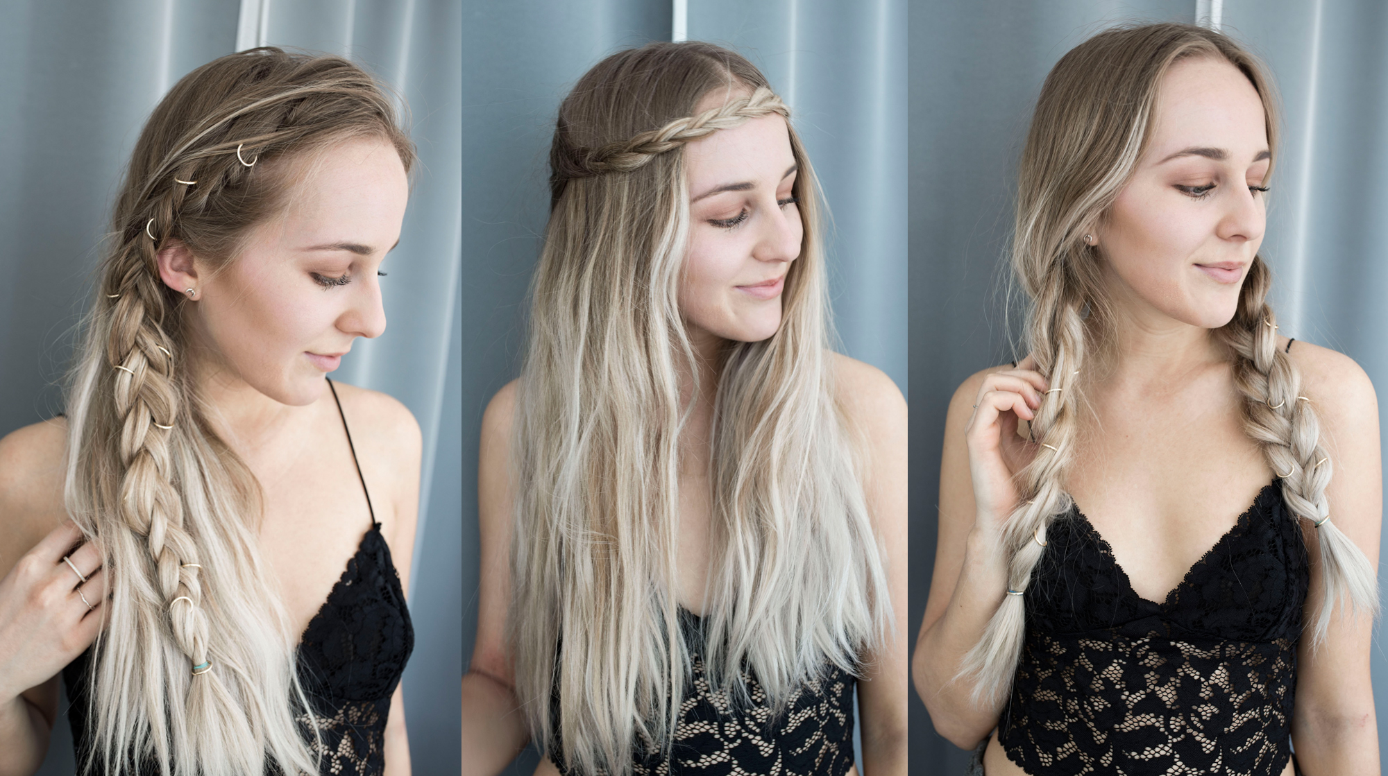 Phenomenal Three Easy Hairstyles For Summer Tiphaine Marie Switzerland Hairstyle Inspiration Daily Dogsangcom
